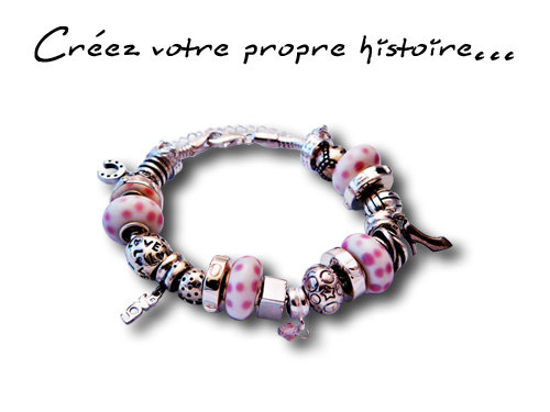 Charmies, colllection de perles, charms en argent sterling 925